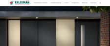 Корпоративный сайт. Алюминиевые конструкции