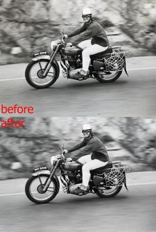 цветокоррекция,ретушь фото,изменить размер