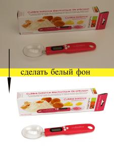 БЕЛЫЙ ФОН+ РЕТУШЬ+ЯРКОСТЬ