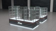 Дизайн торгового островка xVision