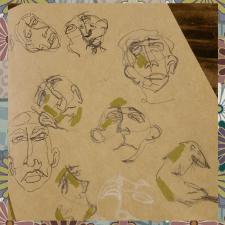 Скетчи. part 3, абстракция.