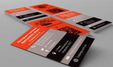 Дизайн визитки для обувного интернет-магазина