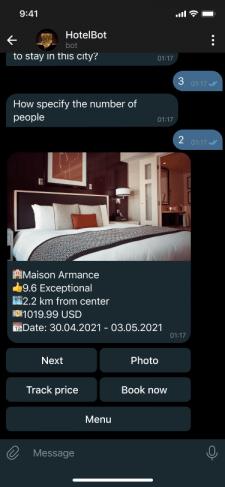 Hotel bot