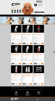 Дизайн интернет магазина Кодос