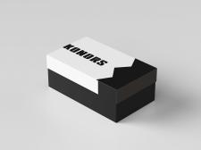 Дизайн упаковки обувной коробки