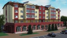 Визуализация фасадов многоквартирного дома