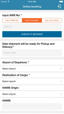 Unique Air Booking