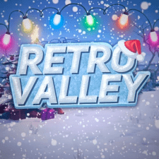 Новогодний логотип для игрового проекта
