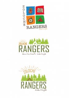 "Разработка логотипа для ""Rangers camp"""
