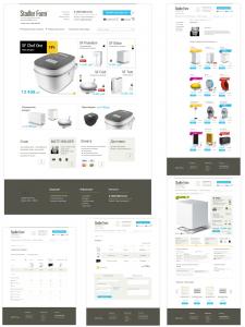 Адаптивный дизайн и верстка интернет-магазина