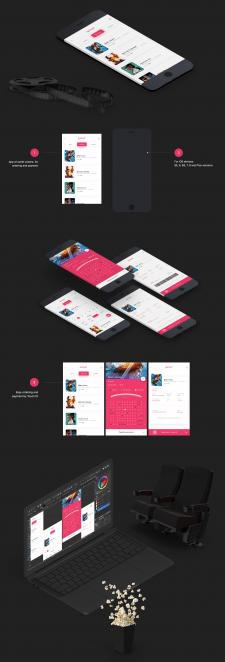 OUTLET CINEMA - app concept