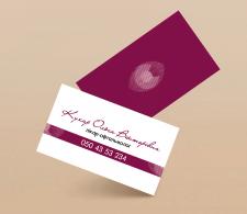 Дизайн визитки для врача-офтальмолога