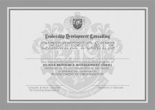 "Сертификат ""LDS"""