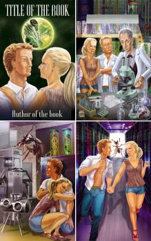 Иллюстрации и обложка к книге.