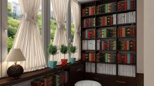 Переделка балкона в жилую комнату