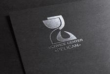 """Логотип сервис центра """"Пеликан"""""""