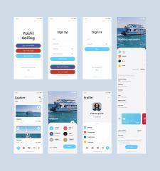 Приложение для аренды яхт
