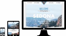 Адаптивная страница сайта