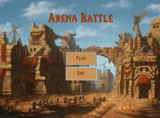 Игра на Arena Battle на WinForms