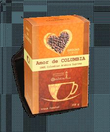 Разработка серии упаковок для молотого кофе 250 г