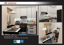 Дизайн интерьера. Кухня