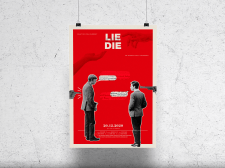 Poster for 'Lie or Die""