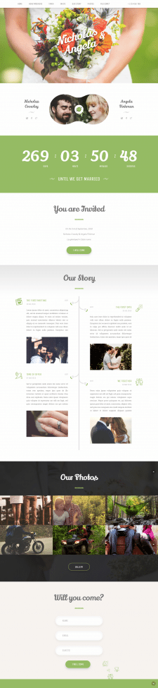 Lechato - Wedding WordPress Theme