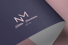 Логотип, фирменный стиль NM