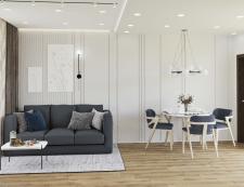 Дизайн проект квартиры с перепланировкой