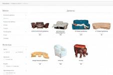 Наполнение интернет-магазина мебели ЕВРОДИВАН