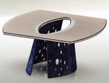 3Д модель стола в SolidWorks