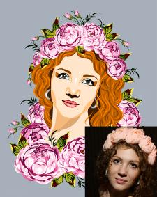 Отрисовка портрета
