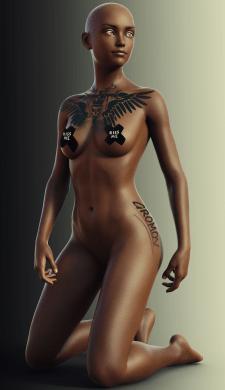 Работа в DAZ Studio и Photoshop CC