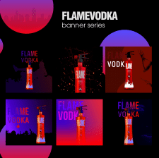 FlAME VODKA баннеры