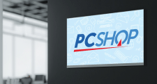 Логотип для интернет-магазина «PCSHOP»