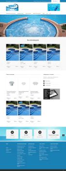 Интернет-магазин по продаже бассейнов