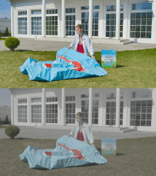 Цветокоррекция фото (до внизу/после вверху)