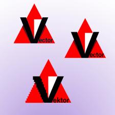 логотип три варианта