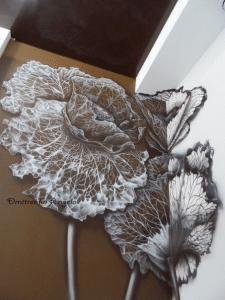 Цветок из паутины