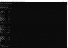Реализовать игру в шашки в консольном окне, C++