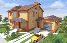 Индивидуальный дом, г. Хмельницкий Лезнево 2