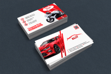 макет визитки Elit