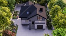 Визуализация экстерьера жилого дома