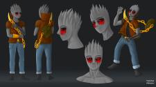 Иллюстрационный эскиз персонажа