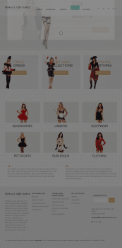 Интернет магазин по продаже женских костюмов