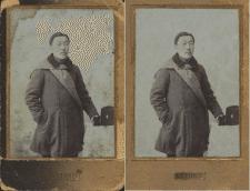 Востановление фото японского солдата