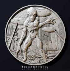 Модель для монеты