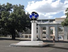 """Конструкция для стадиона """"Черноморец"""""""