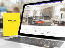 Дизайн страницы для аренды апартаментов в Праге