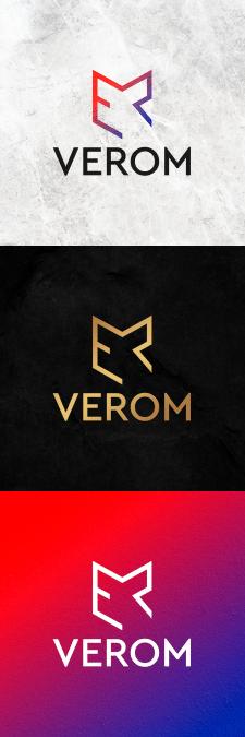 """дизайн логотип строительной компании """"VEROM"""""""
